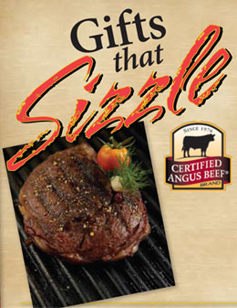 Send the Gift That Sizzles…Certified Angus Beef Steak Boxes.